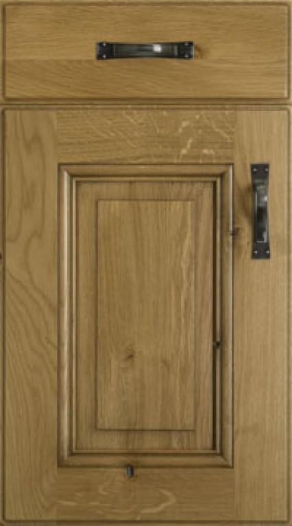 Solid wood replacement kitchen doors for Replacement wooden doors
